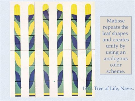color unity matisse drawing with color unity and repetition