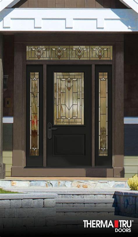 Therma Tru Fiberglass Doors by Therma Tru Classic Craft Canvas Collection Fiberglass Door