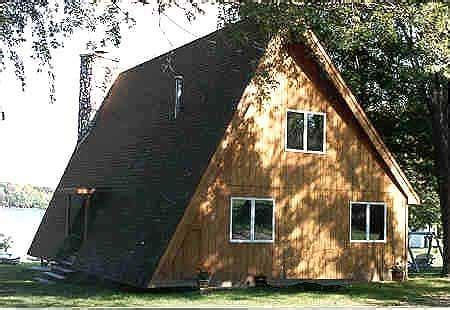 modified a frame house plans popular a frame house plan
