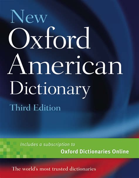 The New Oxford American Dictionary by New Oxford American Dictionary For By Groms