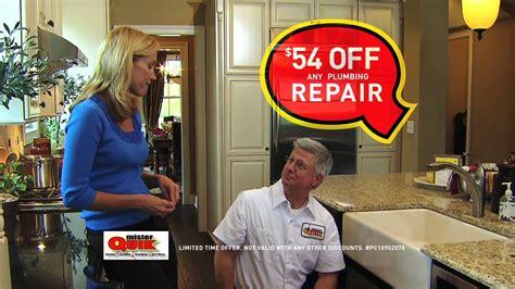 Mr Quik Plumbing mister quik plumbing repair commercial spot