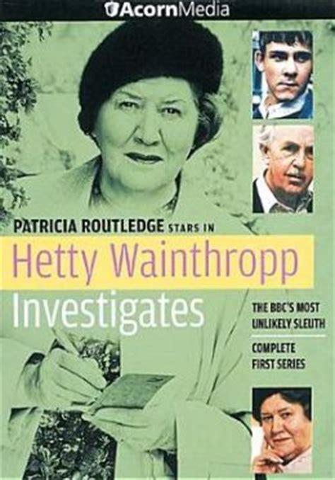 theme music hetty wainthropp investigates hetty wainthropp investigates complete first series by