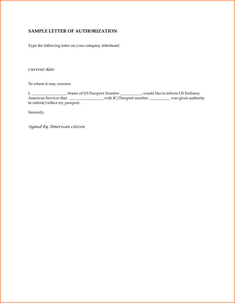 Authorization Letter With Reason Free Sle Authorization Letter To Claim Free Sle Authorization Letter For Claiming