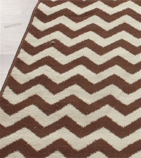 brown chevron rug home value chevron brown rug contemporary rugs by rugs usa