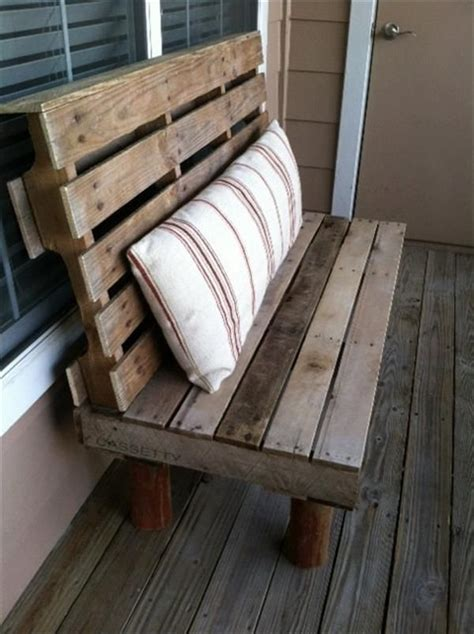 pallet bench diy diy wooden pallet benches pallets designs