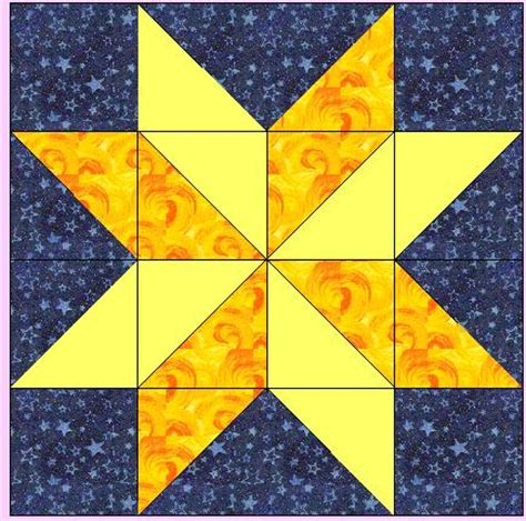 Two Block Quilt Patterns by