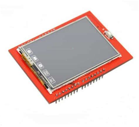 Lcd Display Tft Touch Screen 2 4 Inch For Arduino Uno Ai22 tft lcd touch screen shield 2 4 inch microsd bot shop
