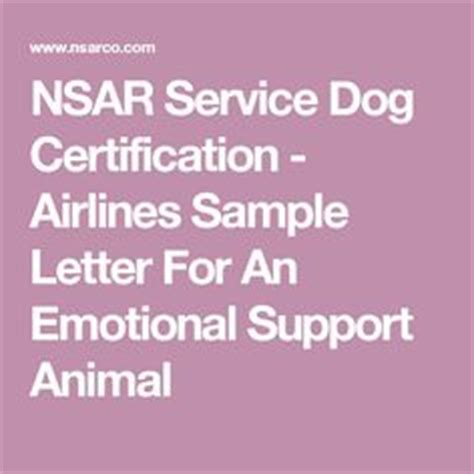 Emotional Support Animal Certification Letter A Letter Of Certification Is A Letter That Is Used To Verify Previous Information In Written