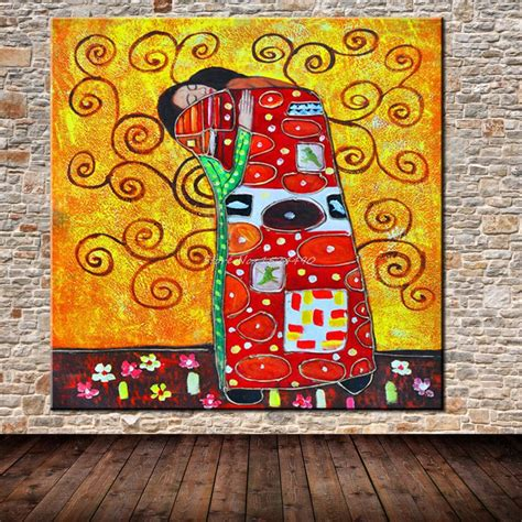 famous wall paintings hand painted gustav klimt famous oil painting modern art