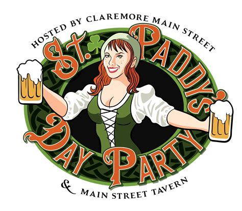 Superb Claremore Churches #4: St.-Paddys-Logo-.png