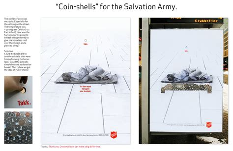 Salvation Army Mattress Donation by A Revolutionary Advertising Concept For The Salvation Army