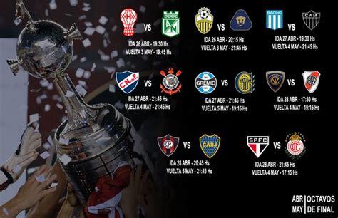Calendario 8 De Copa Libertadores Conmebol Divulga Datas E Hor 225 Rios Das Oitavas De Da