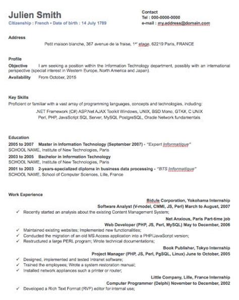 Resume Templates For Pages App Application Template Apple Pages Employment Application