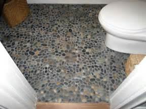 pebble floor for the home pinterest