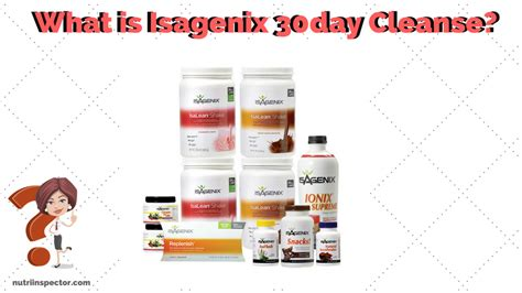 30 Day Detox Plan Reviews by Review Isagenix 30 Day Cleanse Nutri Inspector