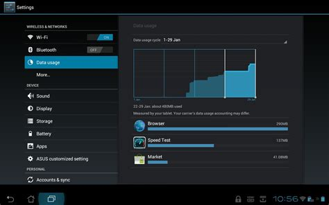 android data usage how to set a data usage limit on your android phone or tablet one click root