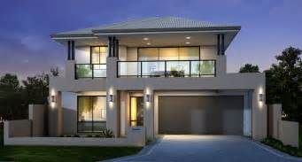 contemporary storey home design idea with
