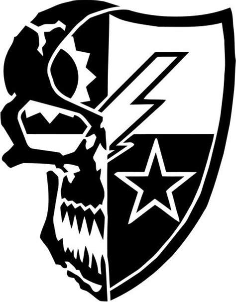 amazon com gothobby 4pcs flexible tattoo machine white 75th ranger regiment skull vinyl decal sticker