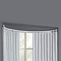 bow window curtain rod bow window flexible curtain rod kit
