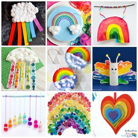 rainbow crafts for 22 rainbow crafts arty crafty