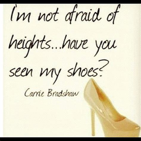and shoes quotes quotes about shoes carrie bradshaw quotesgram