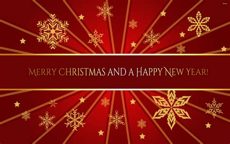 wallpaper christmas and new year merry christmas and happy new year wallpaper