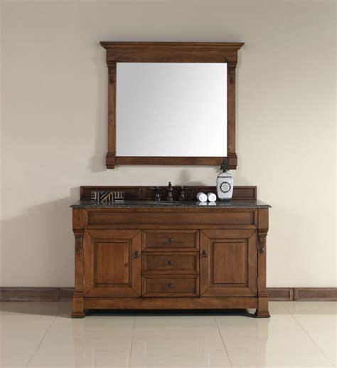 60 in bathroom vanities with single sink 60 inch single sink bathroom vanity in country oak