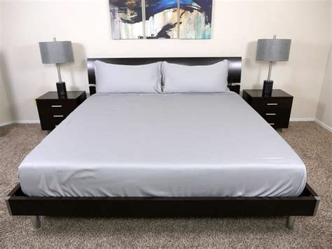 bed sheets review bamboo mattress reviews the brentwood cover find this