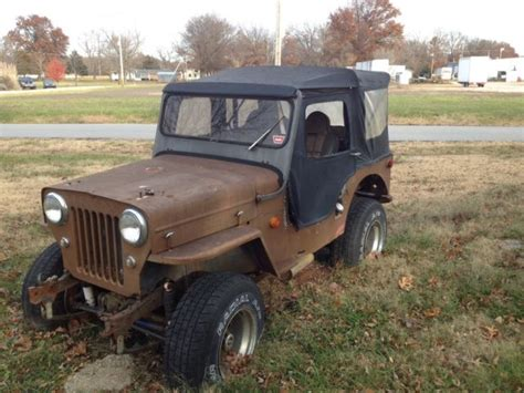 Jeep Project 1960 Cj3b Jeep Willys Project For Sale In Arma Kansas