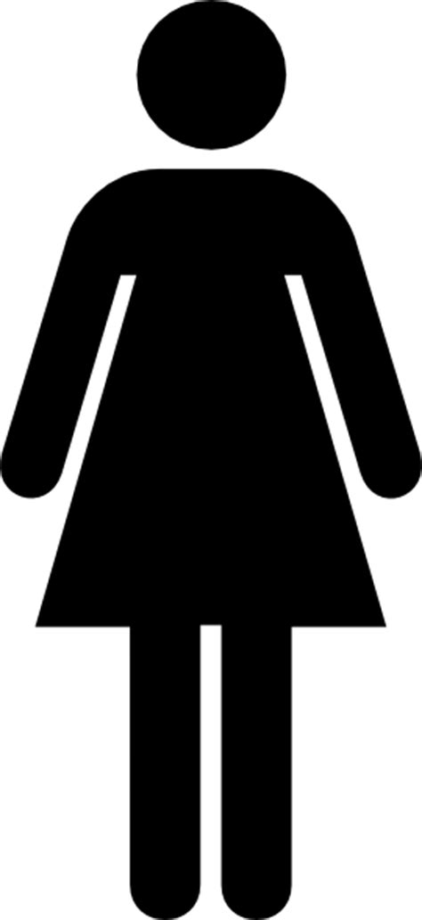 woman bathroom symbol bathroom woman clip art at clker com vector clip art