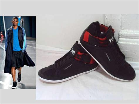Sepatu Adidas Yohji Yamamoto s yohji yamamoto y 3 adidas kazuhiri hi top black