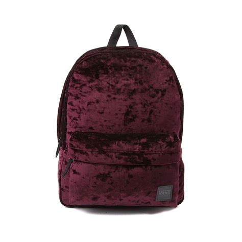Velvet Mini Backpack vans deanna crushed velvet backpack 35858