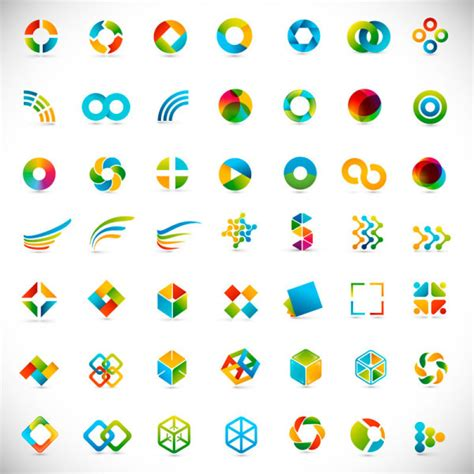 free logo design elements vector abstract logo free vector download 80 352 free vector