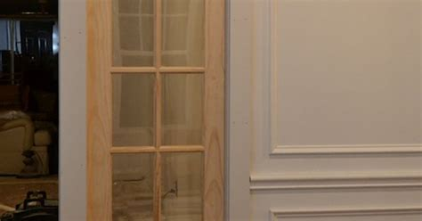 French Doors Interior - stationary built in french door panels french doors used as interior sidelights basic build