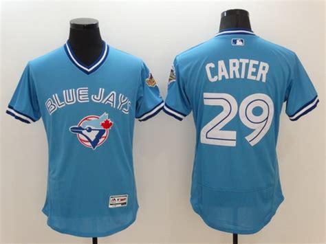 light blue baseball jersey toronto blue jays 29 joe retired light blue 2016