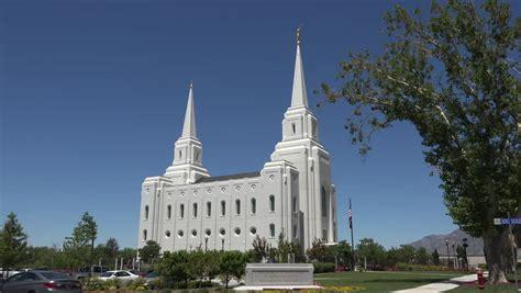 lds filmmovies by latter day saintslds videosutah mormon temple in salt lake city utah stock footage video