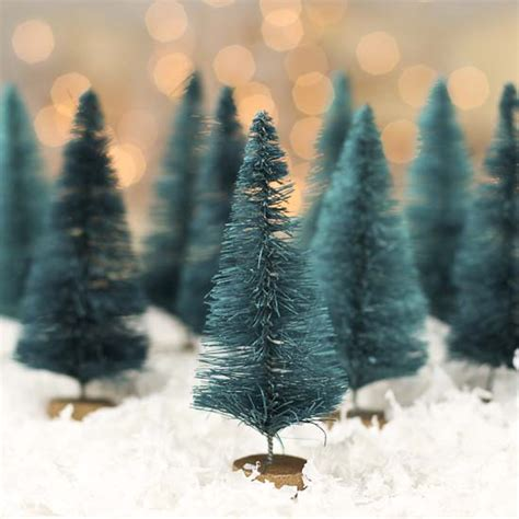 melbourne and 60cm bottle brush christmas tree small green bottle brush trees miniatures and winter crafts
