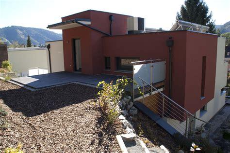 flachdachhaus mit garage massivbau