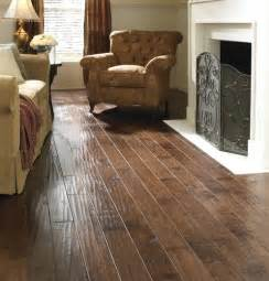 fireplace living room with scraped laminate flooring