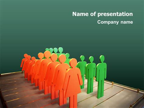 Population Presentation Template For Powerpoint And Population Ppt Templates Free