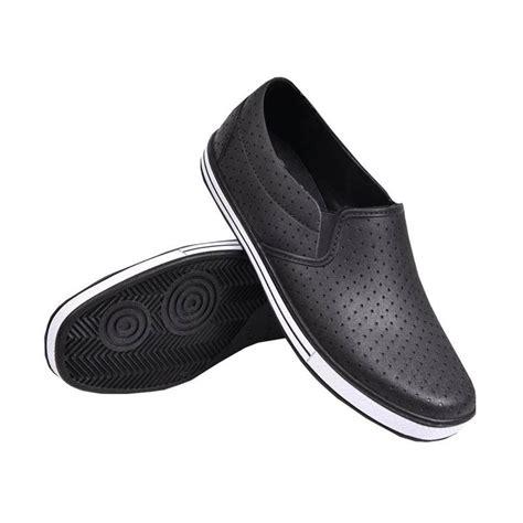 Sepatu Pantofel Karet Att Saf 1115 jual att pantofel s1115 sepatu pria hitam harga