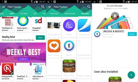 best apps market apk free 5 best android market apps for phones and tablets