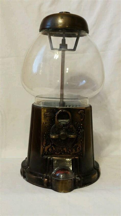 Vintage 1985 Copper Carousel Gumball Machine Rare   eBay