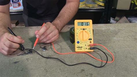 how to check electrical wiring how to check a faulty thermostat using a multimeter