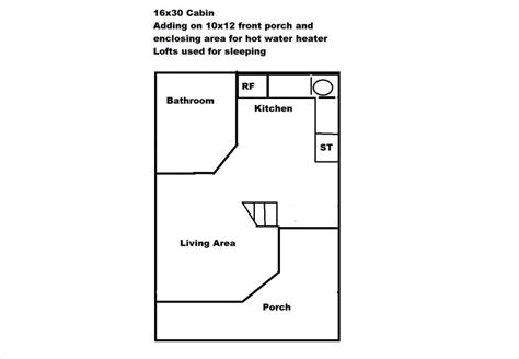 Derksen Cabins Floor Plan Joy Studio Design Gallery 16x40 Lofted Cabin Floor Plans