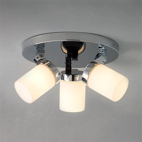 overhead bathroom lighting buy john lewis alpha 3 light bathroom ceiling light john