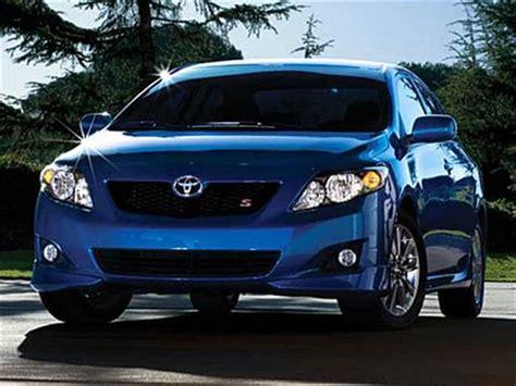 toyota corolla sedan  pricing kelley blue book
