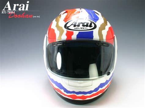 Helm Arai Rx7 Rr4 Racing Helmets Garage Arai Rx 7 Rr4 Mick Doohan 1989 1994