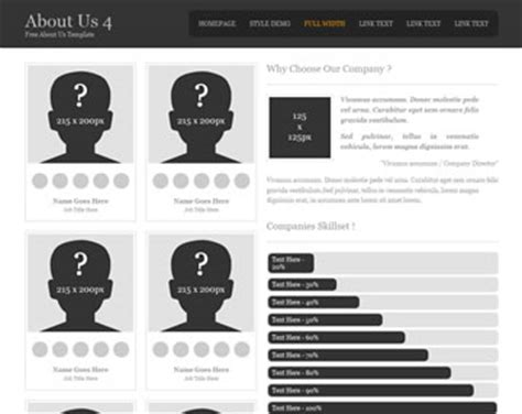 About Us 20 About Us Templates Os Templates Sle About Us Page Template