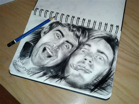 speed drawing pewdiepie and cinnamontoastken speed drawing by